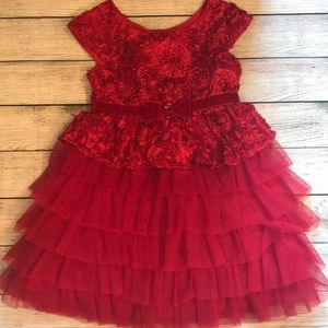 Holiday Little Girl Dress Size 5